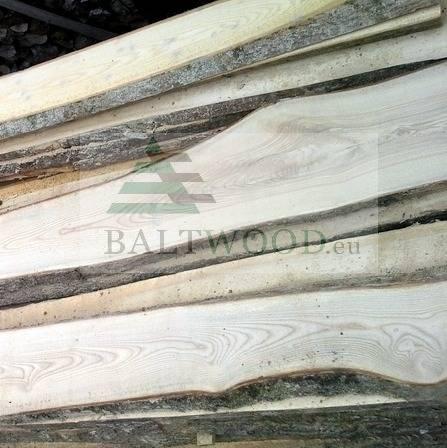 Sawn ash timber