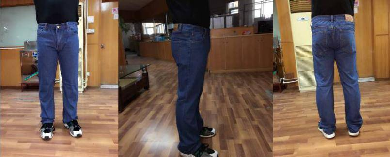 TOP LEVEL brand stocklot on sales, 34,272pcs Men's straight denim pants TC2-386