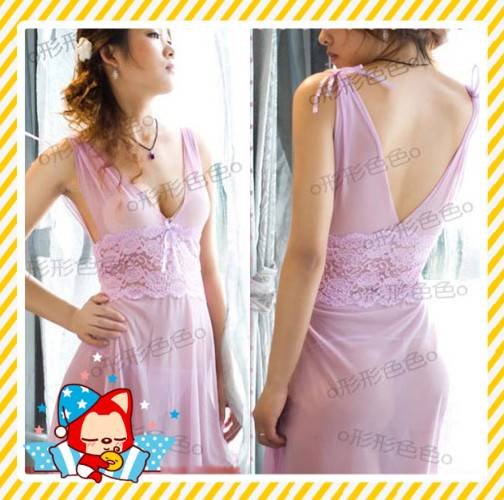 Sexy Ladies Lingerie G-String Thong Underwear Chemise Sheer Women Babydoll Dress
