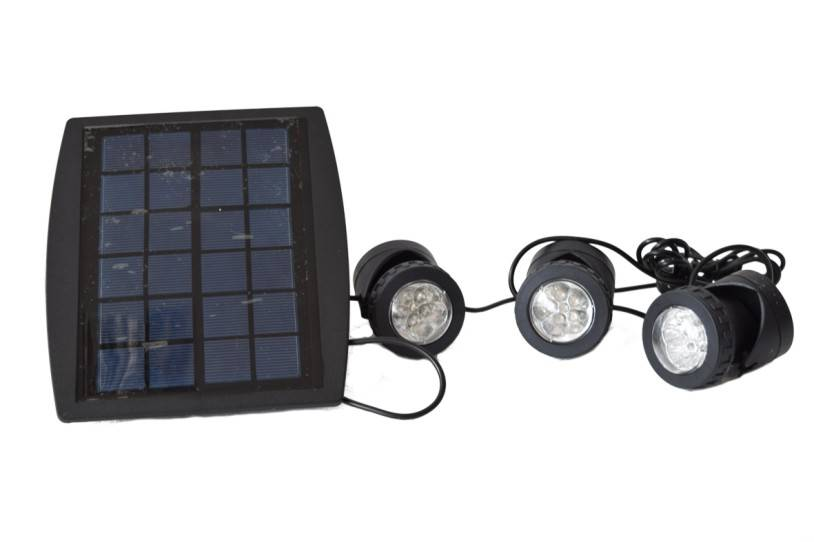 Weatherproof Solar Energy Powered LED Spotlight, Waterproof Available for Outdoor Garden