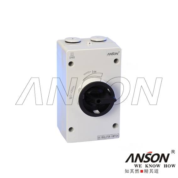 ASL4-003 Solar DC Isolator Switch for Photovoltaic
