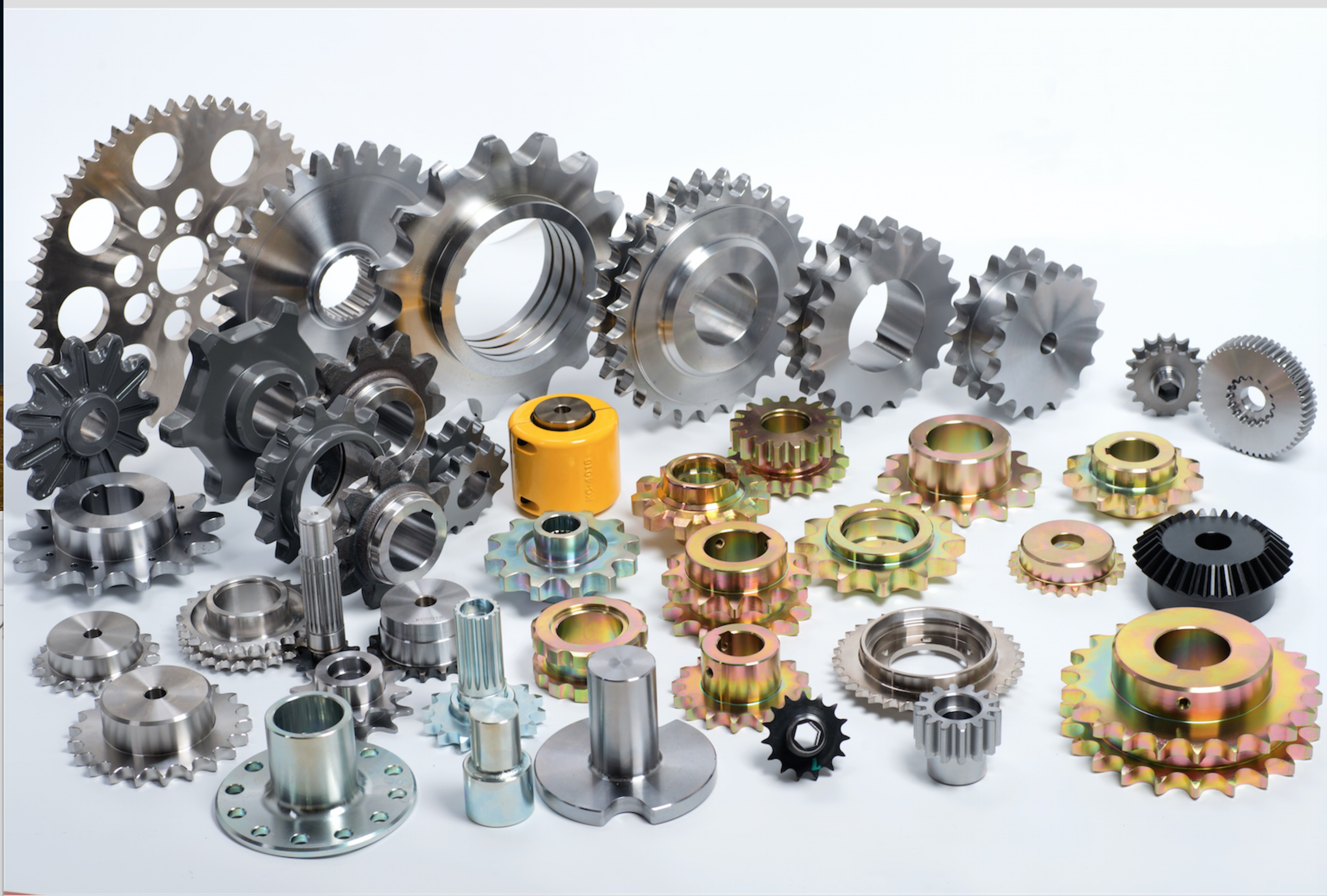 Sprocket,gear,chain coupling and flange