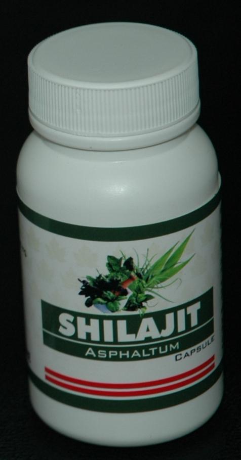Shilajit (Asphaltum) Capsule  Health Food