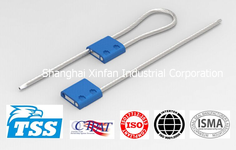 3.5mm C-TPAT Cable Seal for trailer, contrainer, truck door Model No. TSS-CF3.5T Security Seal (Xinf