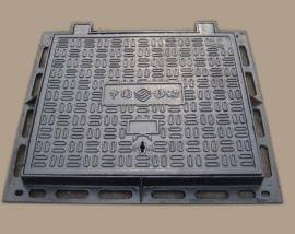 Foundry direct En124 standard anti theft locking manhole cover with hinge