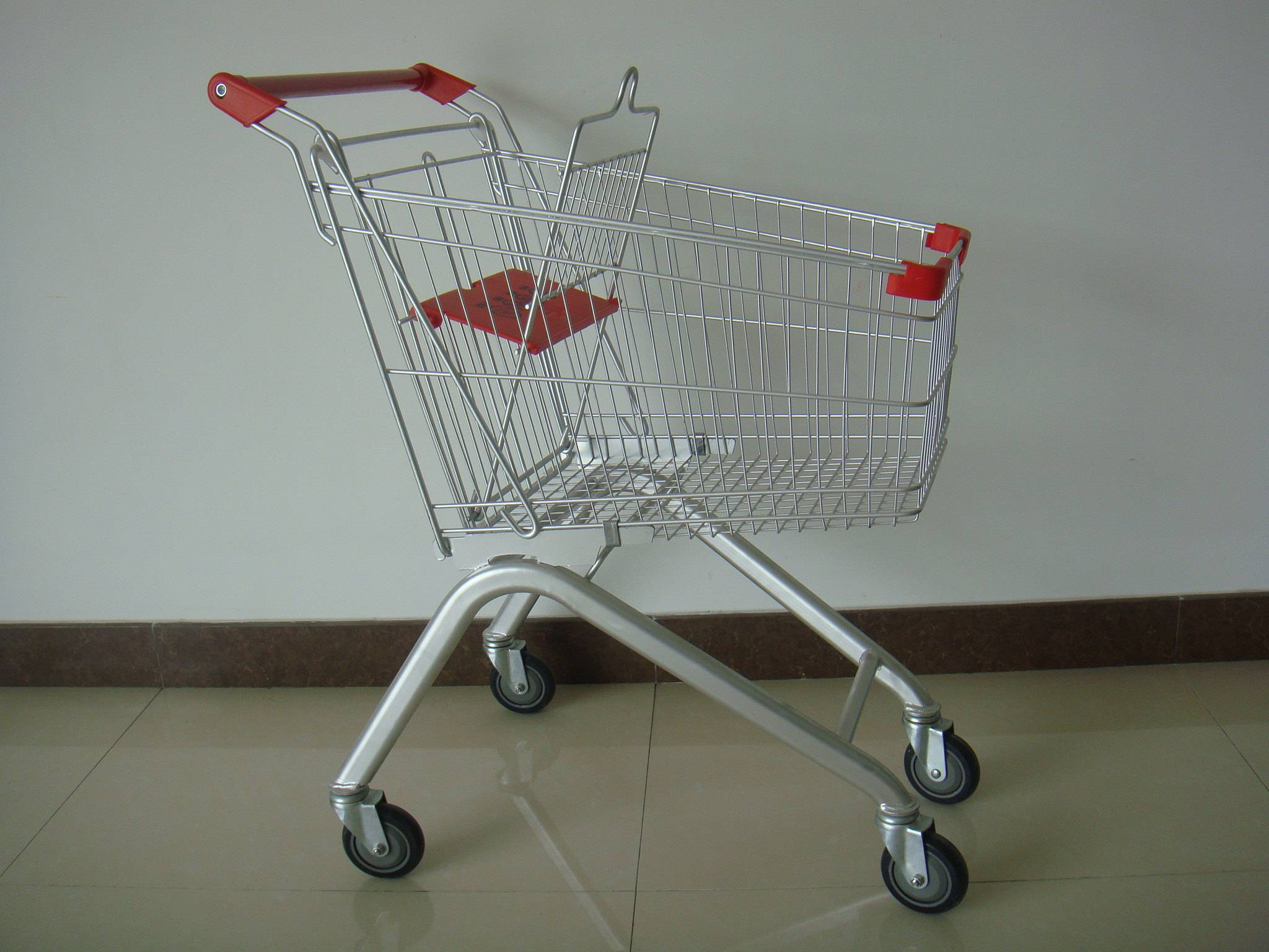 Cheap supermarket shopping trolley hero (Europe Style YRD-A60L))