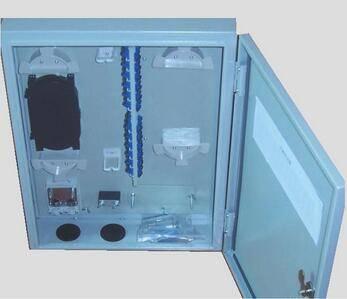 1X32 White/Grey Wall Mounted Fiber Optical Distribution Box