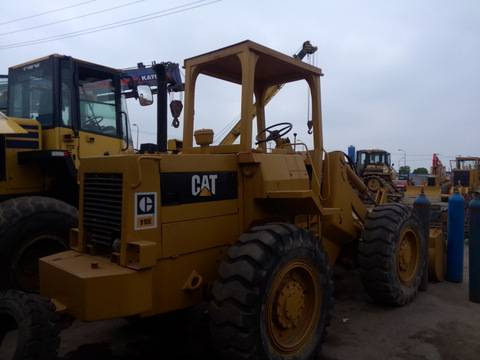 Caterpillar wheel loader 910E