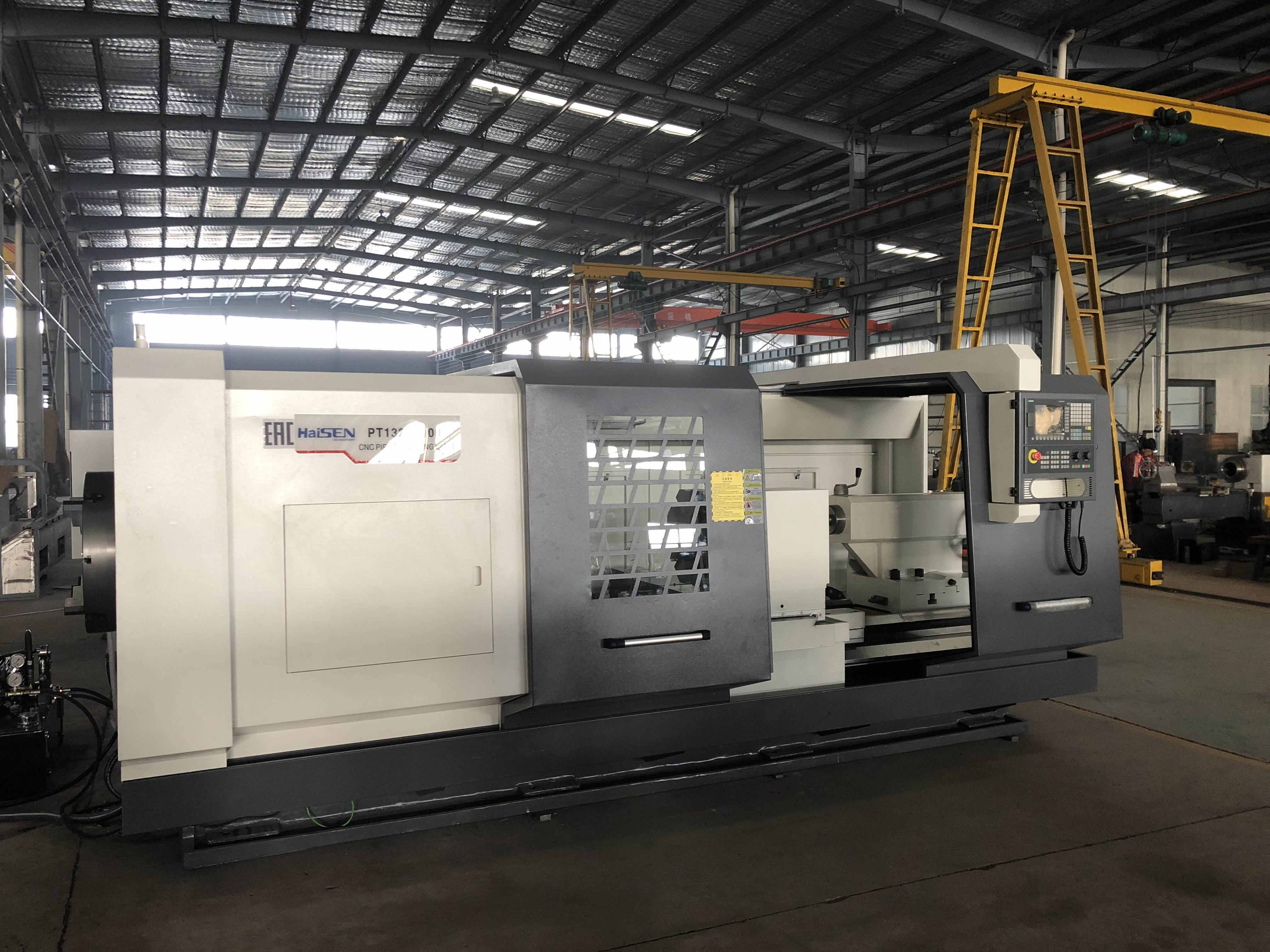 QK1335 China CE ISO Exported to USA, Russia, UAE Overall Machine Bed CNC Oil and Gas Pipe Lathes Mac