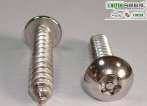 Tamper Proof 6 LOBE With PIN,PAN Head,Sheet Metal Screw