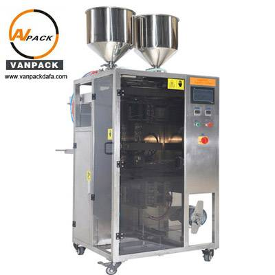 2 Lanes Special-Shaped Sachet Packing Machine