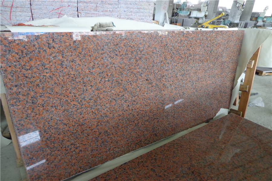 Maple Red Granite,G562 Maple Red Granite Slab&Cut to Size