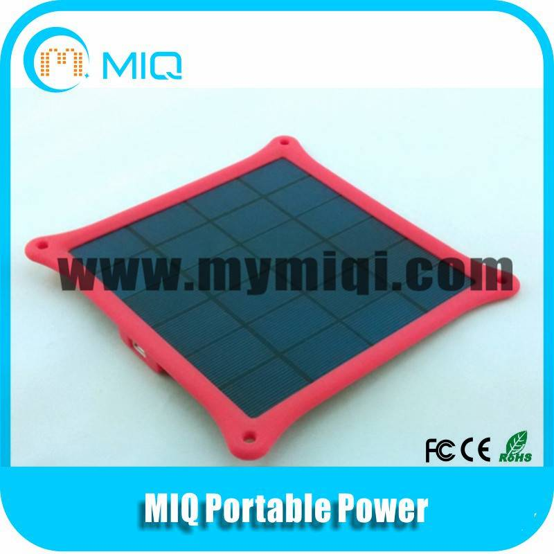 MIQ 5W solar charger for all mobile phones