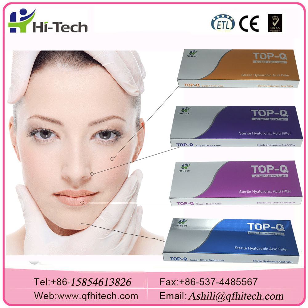 New TOPQ Crosslinked Hyaluronic Acid Dermal Fillers