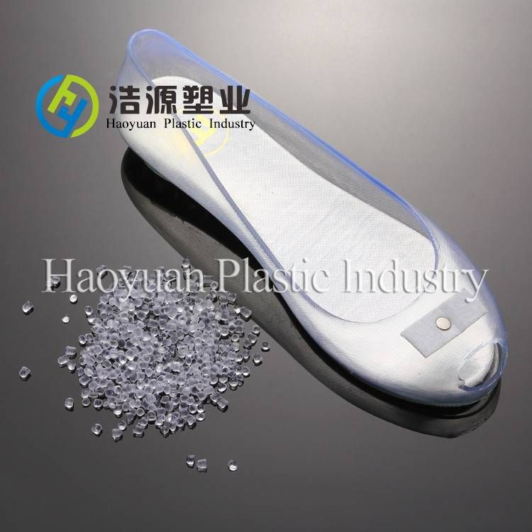 Virgin injection pvc compound for crystal slippers