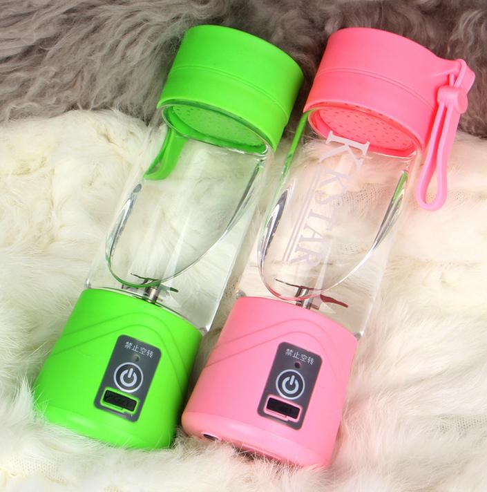 Electric Fruit Juicer Handheld Smoothie Maker Blender Rechargeable Mini Portable Juice Cup