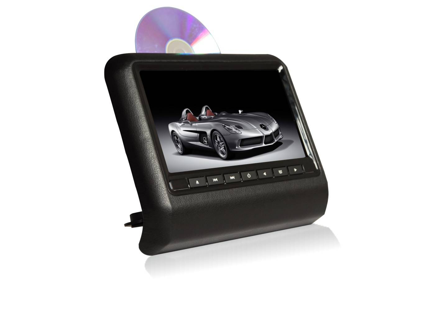 9inch Active Headrest DVD Player with USB,SD,IR,FM,GAME full function
