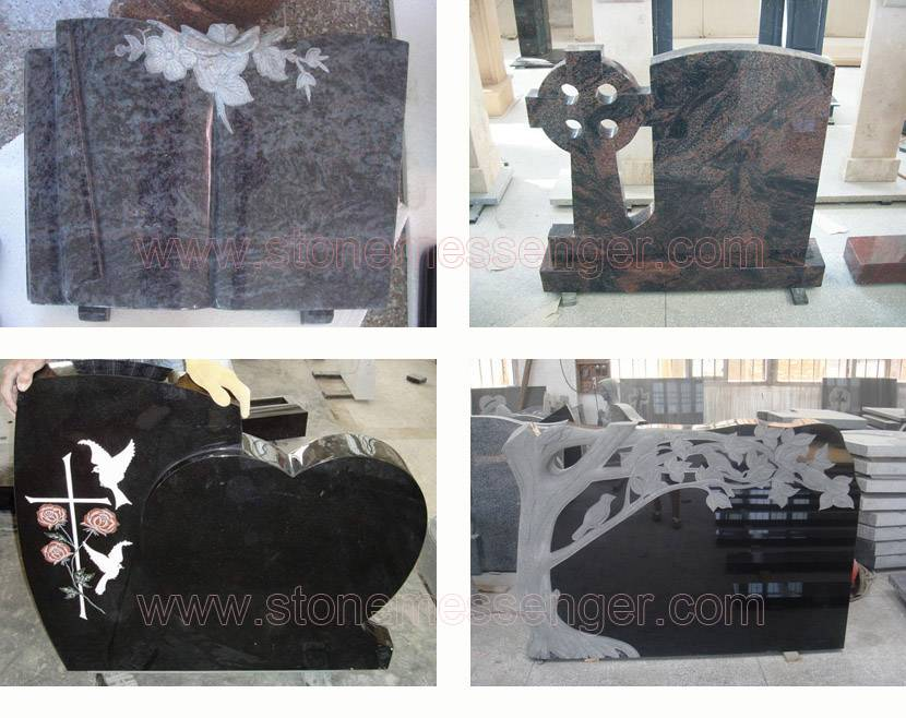 Supply Granite Tombstone, Monument And Cemetery Memorial Stone From China