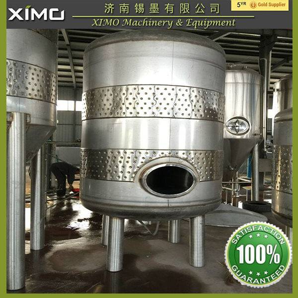 1000L Stainless steel jacketed conical beer fermenter,beer fermentation tank/fermenter tank for beer