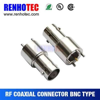 Factory Price 26.2mm BNC Jack Connector For PCB Mount
