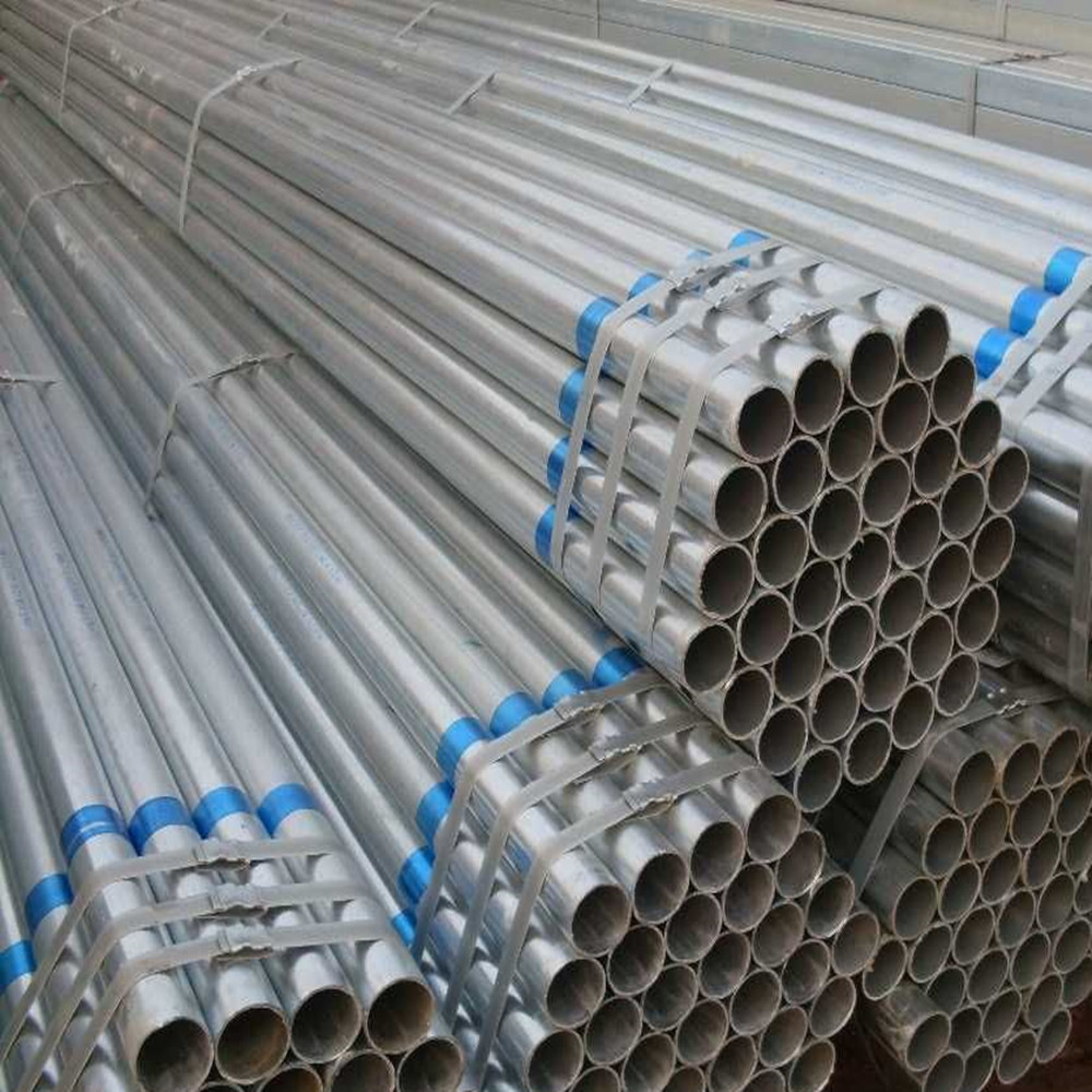 Galvanized Scaffolding Steel Pipe In Tianjin Q195 / Q235b