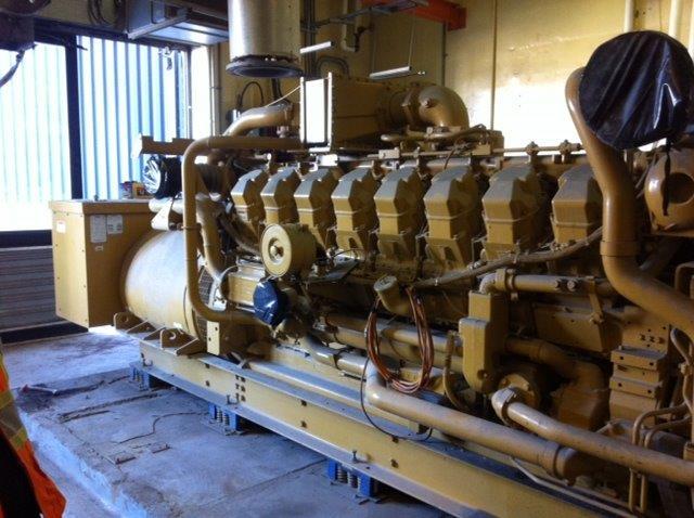 #19553 820 KW Caterpillar G3516SITA Generator