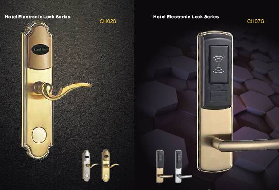 High Quality Electronic RFID card lock hotel door lock with access control