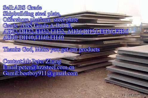 Sell :Shipbuilding steel plate,Grade,ABS/AH40,ABS/DH40,ABS/EH40,ABS/FH40,steel plate/sheets/Material