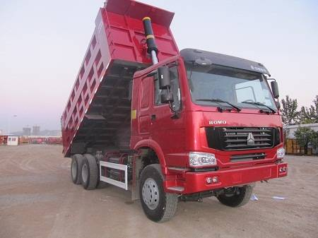 howo 6x4 tipper truck for construction