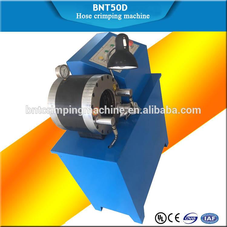 2018 BARNETT BNT50D hydraulic hose crimping machine