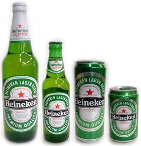 Heineken,Carlsberg,Buds,Conora,Turborg Beer