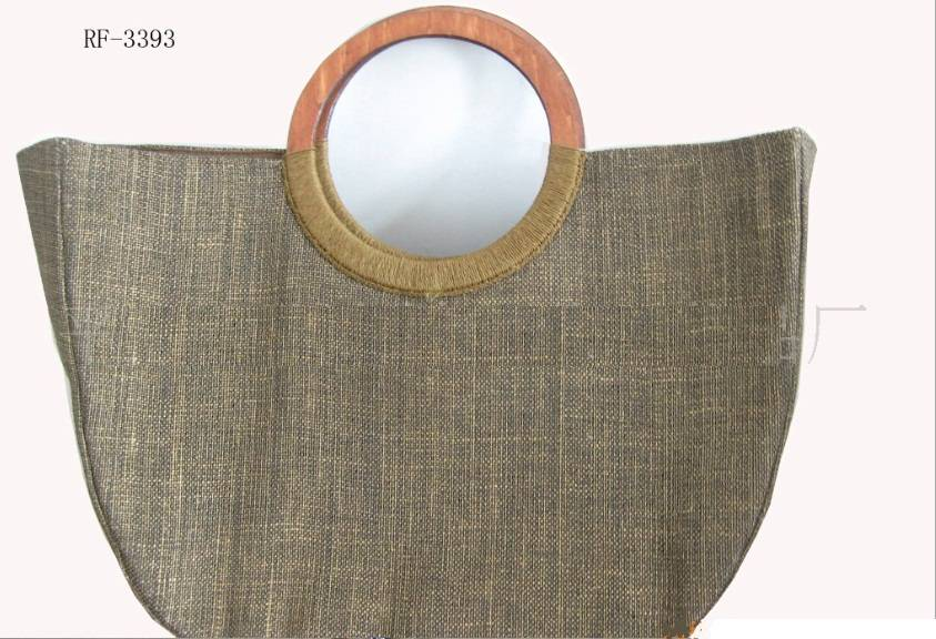 Sell jute handbag/straw bag/totebag