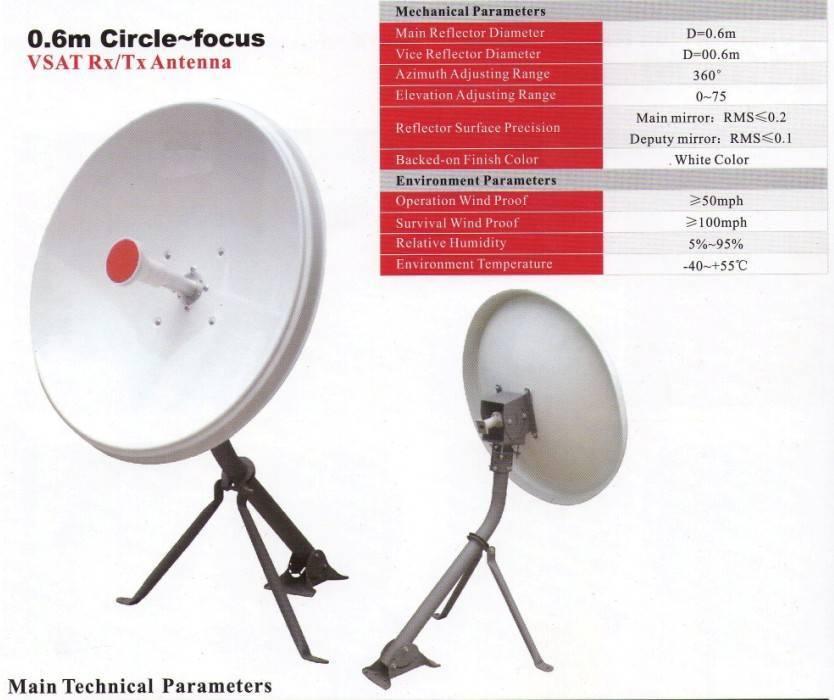 Sell 0.6m Circle-Focus Antenna