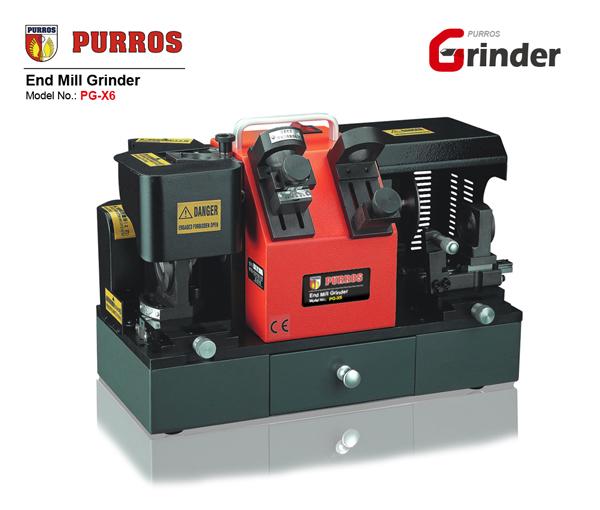 PURROS PG-X6 Spiral End Mill Grinder 4-14mm End Mill Sharpener Grinding Machine