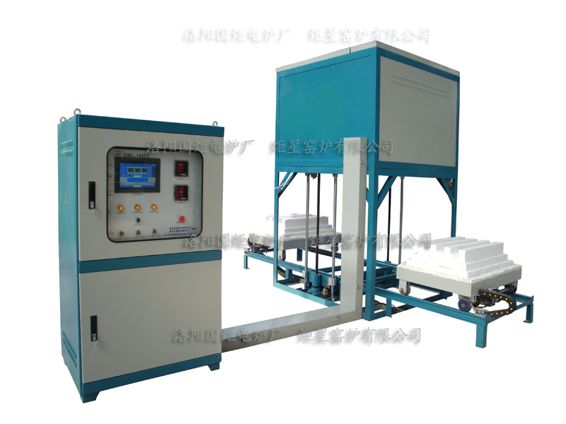 1200-1800 Centigrade High temperature Lift furnace (screw mandrel)
