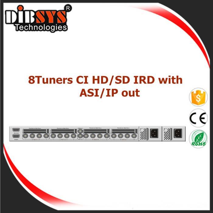 8-Channel CI IRD/Processor