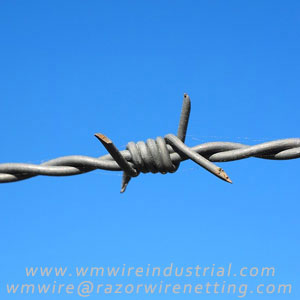 Barbed wire | Arame farpado --- WM Wire Industrial