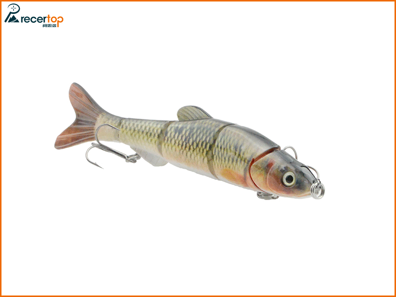 Sinking fishing lure 5 section lures Hard lures fishing lures dace