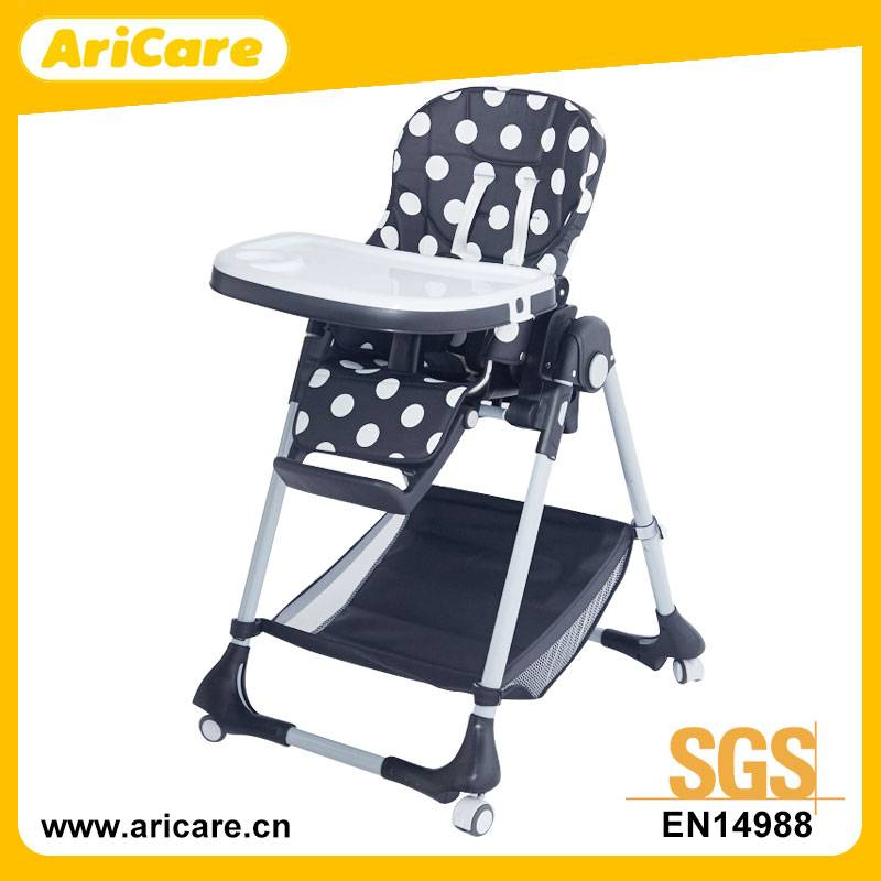 Baby Dinning High Chair for Home or Restaurant