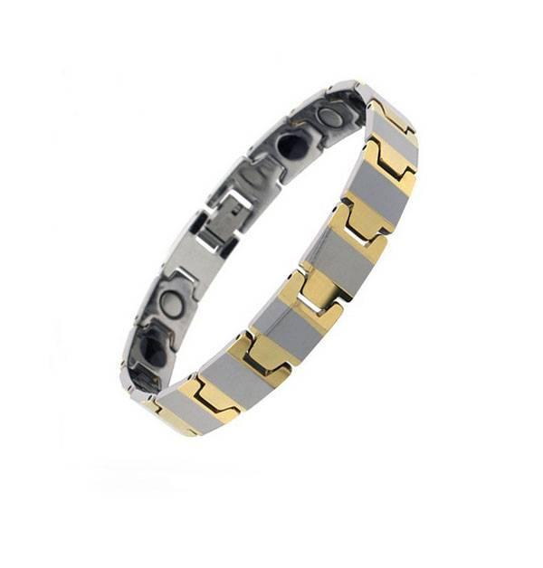 Wholesale 316L Stainless Steel Fashion Bio Magnetic Bracelet 2016