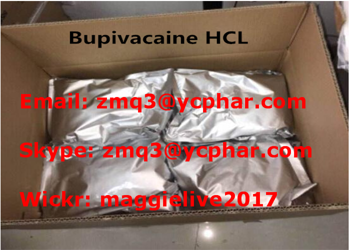 99% Local Anesthetic Drugs Bupivacaine HCL / Bupivacaine Hydrochloride For Surgery / Postoperative A