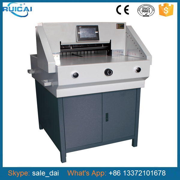 Smart Cutter Paper Machine with 520mm Cutting Size