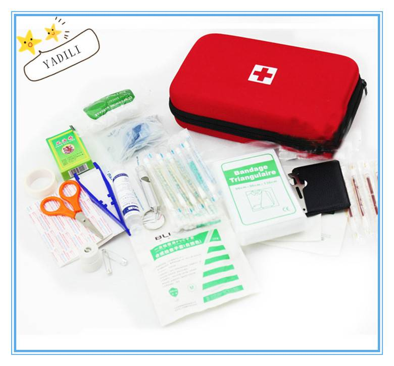 EVA earthquake first aid medicine package suits the outdoor portable field medical kits