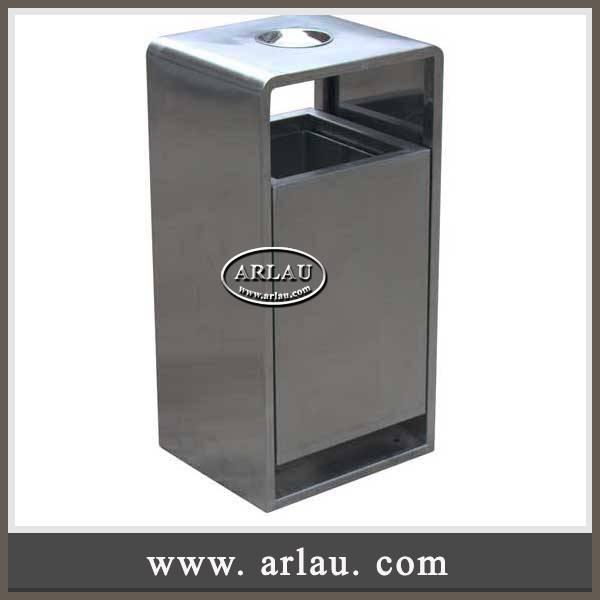 Arlau Wholesale Outdoor Furniture,Stainless Steel Waste Bins ,Waste Receptacle