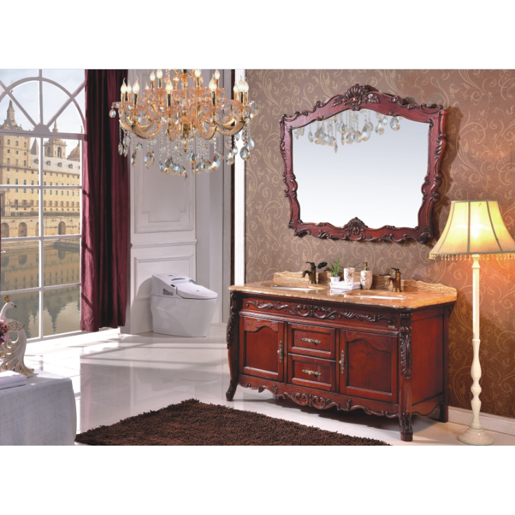 Hot selling America style bathroom cabinet 0281-B-8602