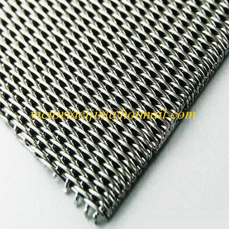 high quality stainless steel wire mesh dutch weaving
