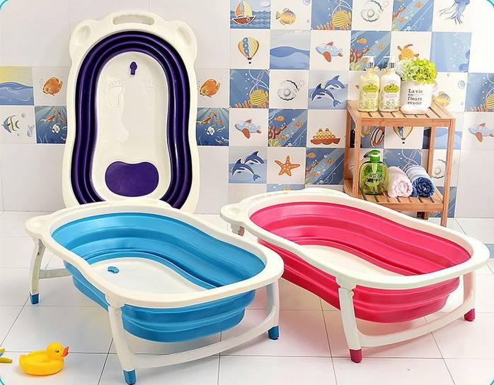 2015 Best Quality Baby bathtub, plastic baby folding bathtub