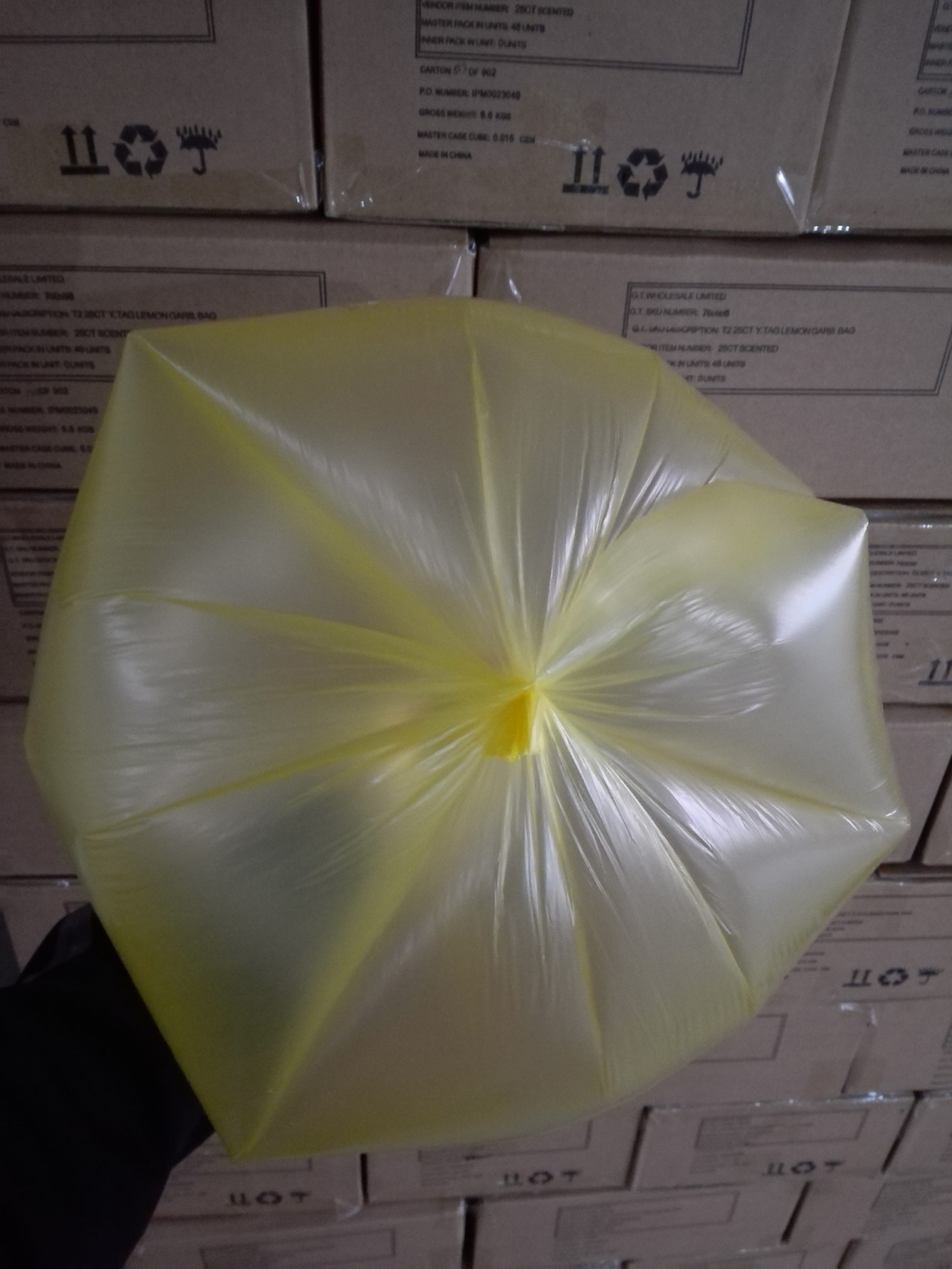 HDPE/LDPE heavy duty Star seal garbage bags on rolls