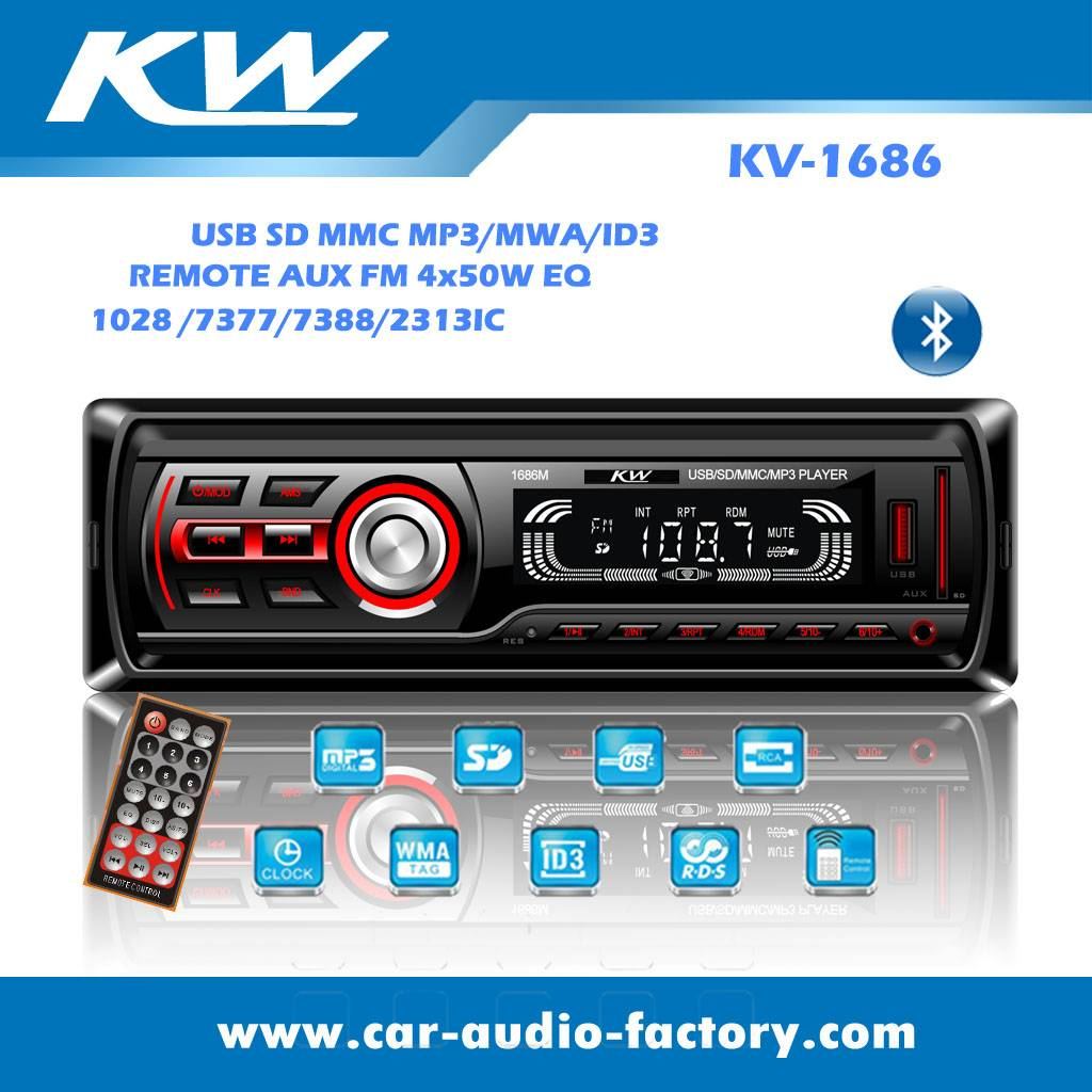 KV1686 Car MP3 player with EQ Function