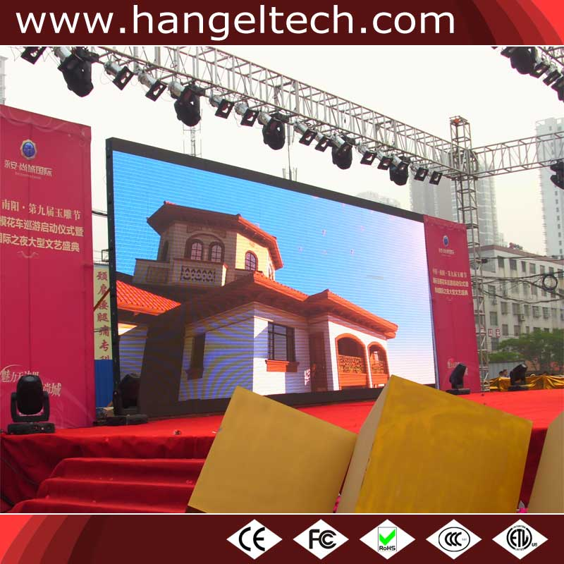 Manufacturing P3.91mm Outdoor Waterproof Rental LED Video Wall for Weddings - 500x500mm Cabinet